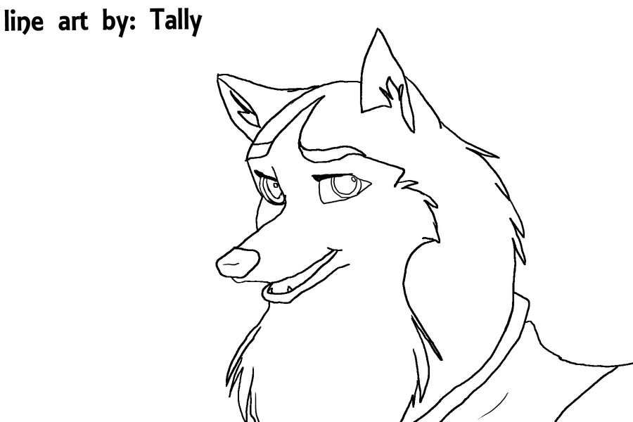 Balto Aleu Coloring Pages