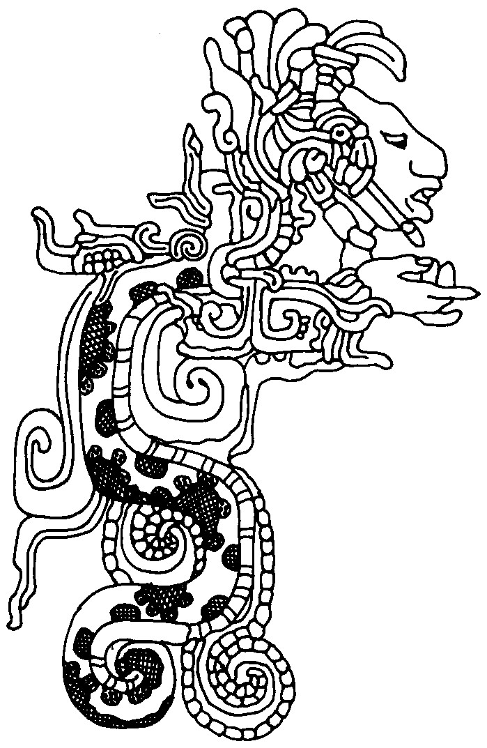 Aztec coloring pages to download