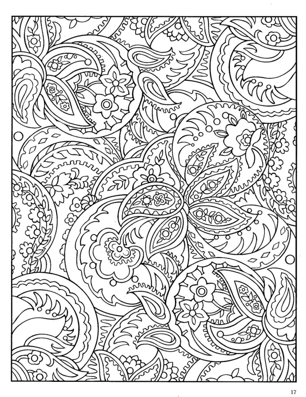 Adult coloring pages to print to and print for free