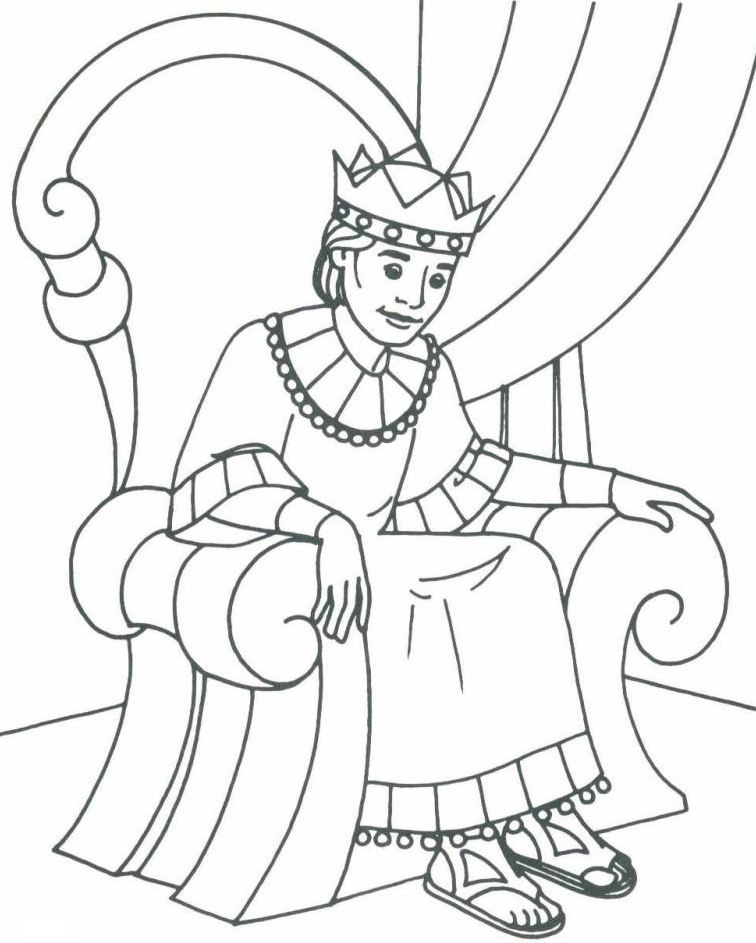 King coloring pages to download