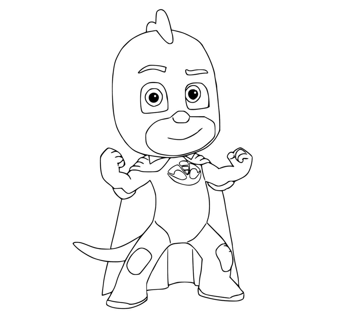 Revered image for pj masks coloring pages printable