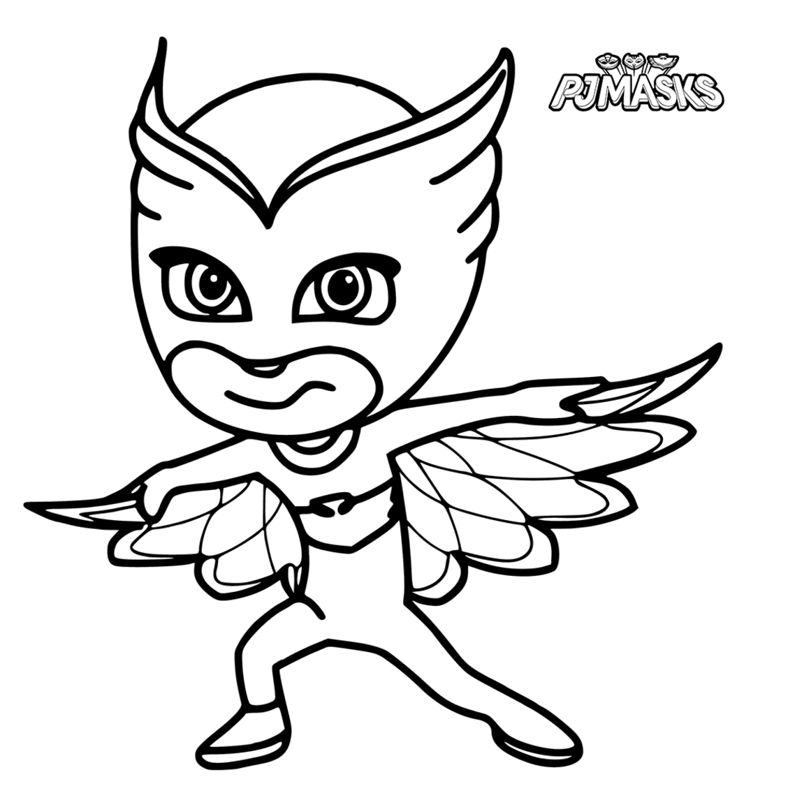 pj masks coloring pages - Colour In Sheet