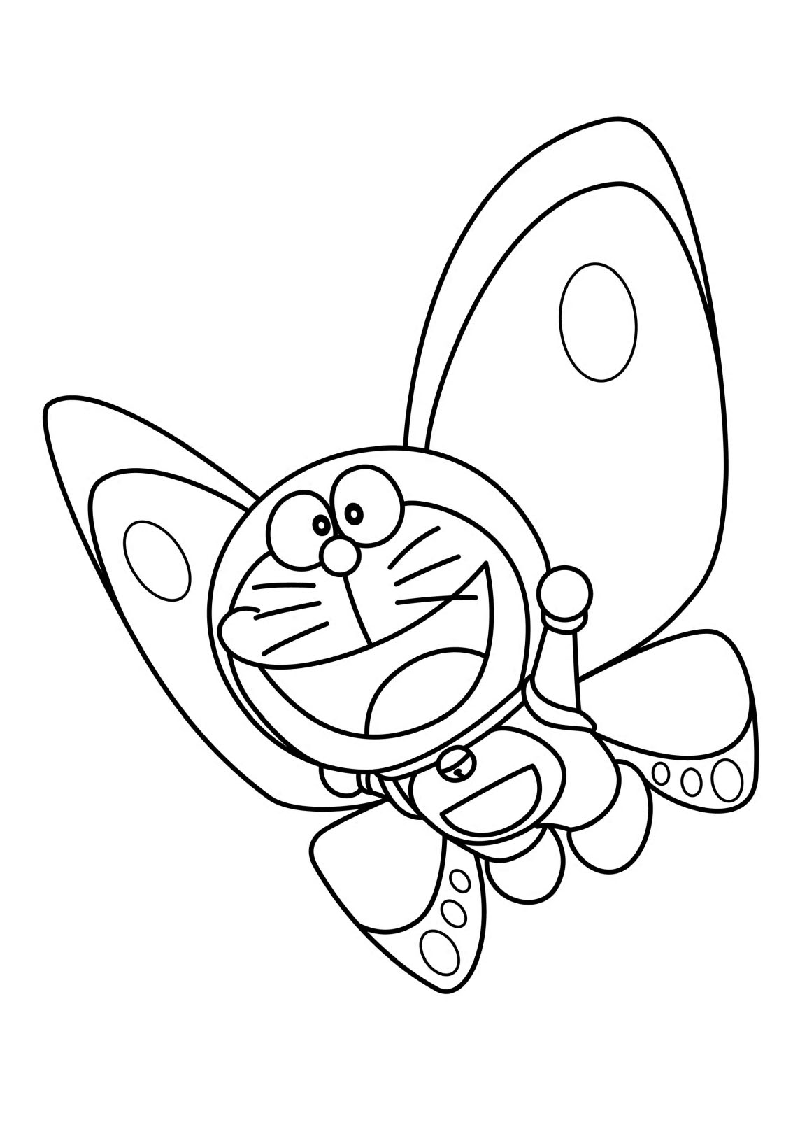 Doraemon Coloring Pages to download