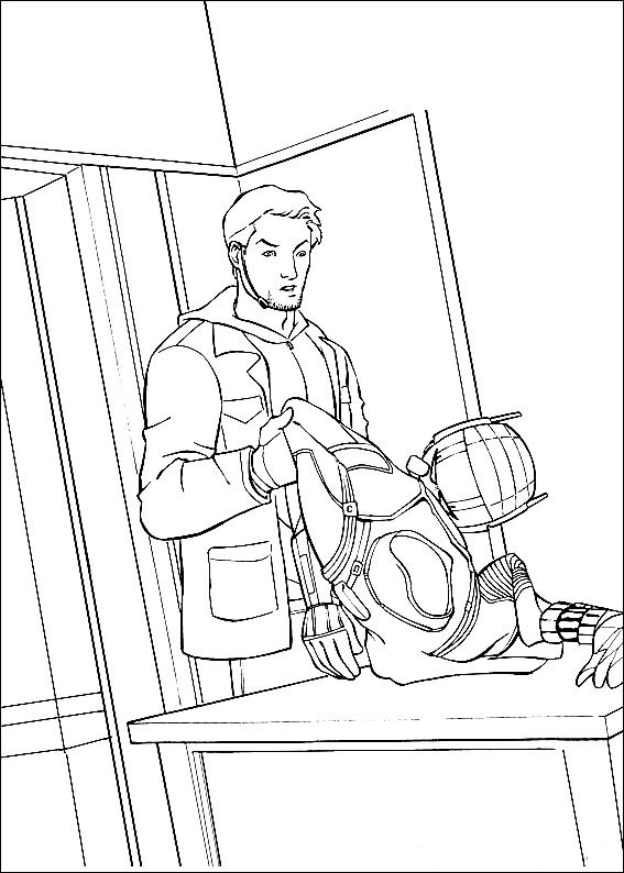 Ant Man Coloring Pages To Download And Print For Free