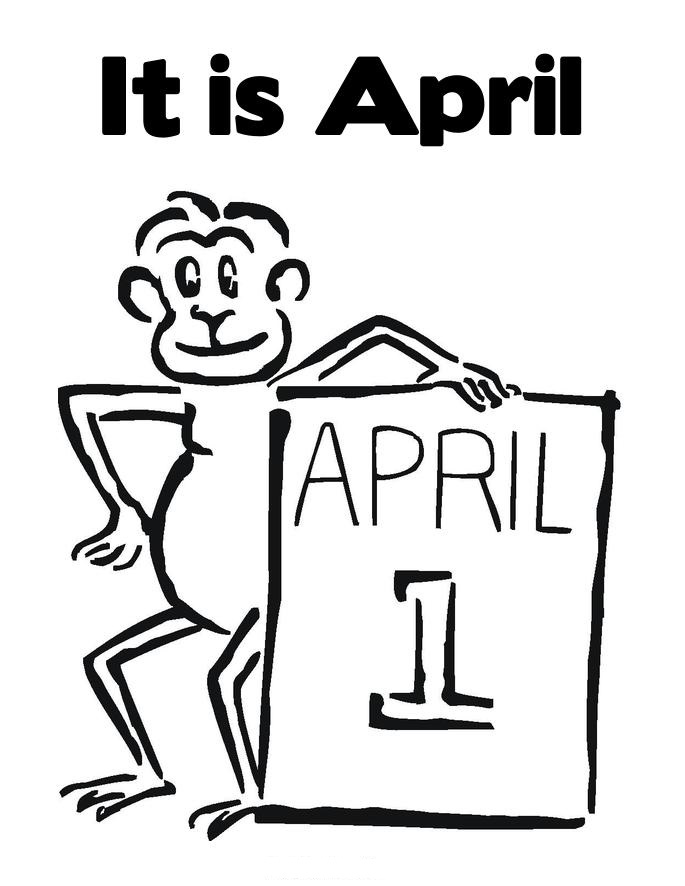 April Fool 39 s Day Coloring Pages