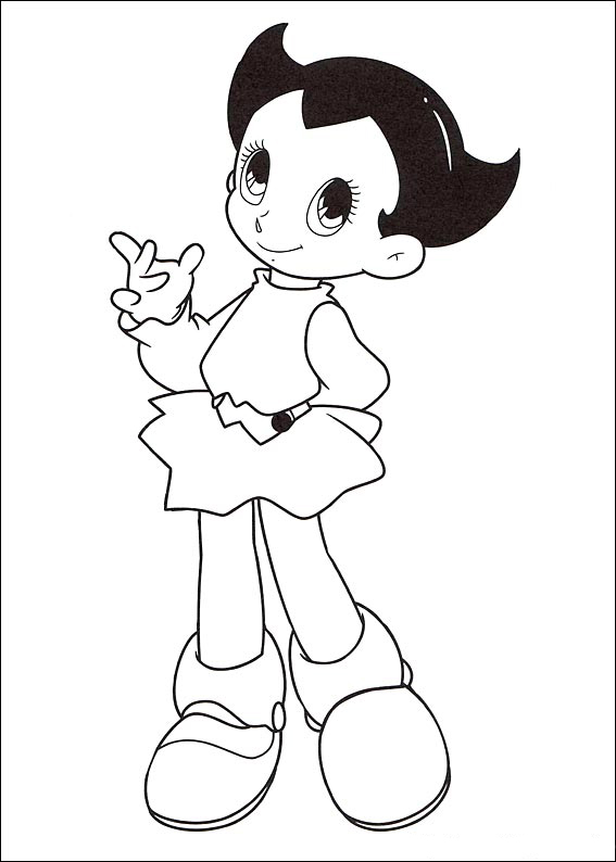 Astro Boy Coloring Pages To Download And Print For Free