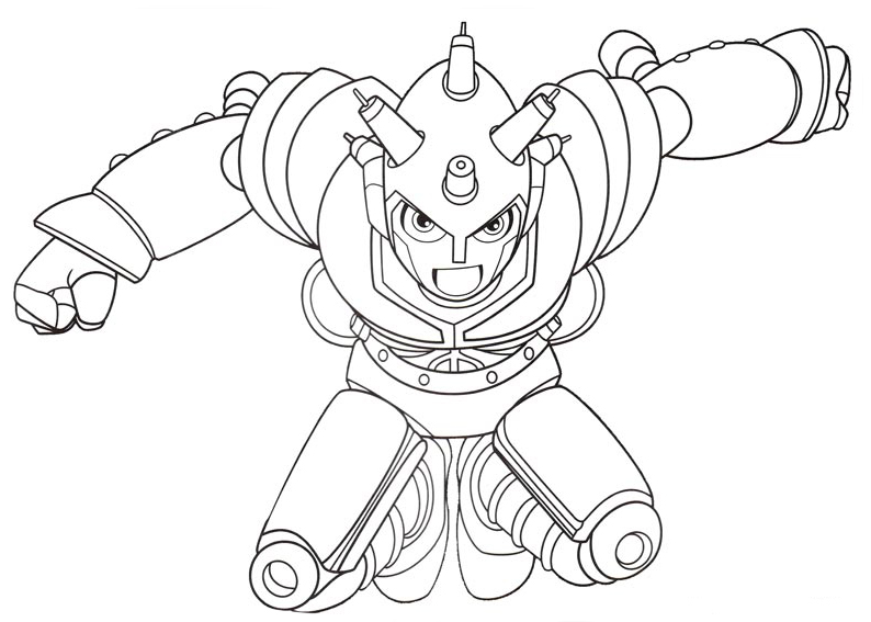 Astro Boy coloring pages to download
