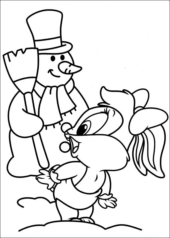 baby toones coloring pages - photo#3