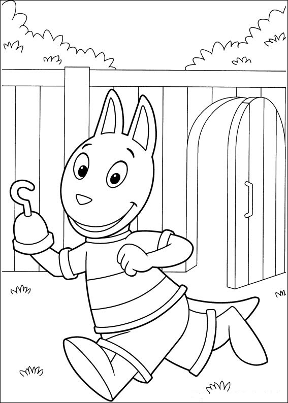 free backyardigans coloring pages to print for kids download print and color