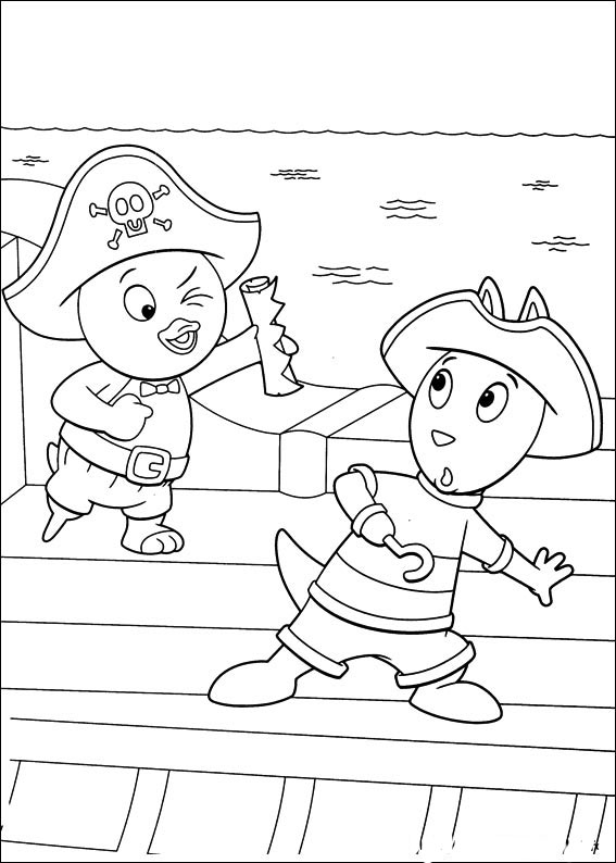 free backyardigans coloring pages to print for kids download print and color - Backyardigans Coloring Pages Print