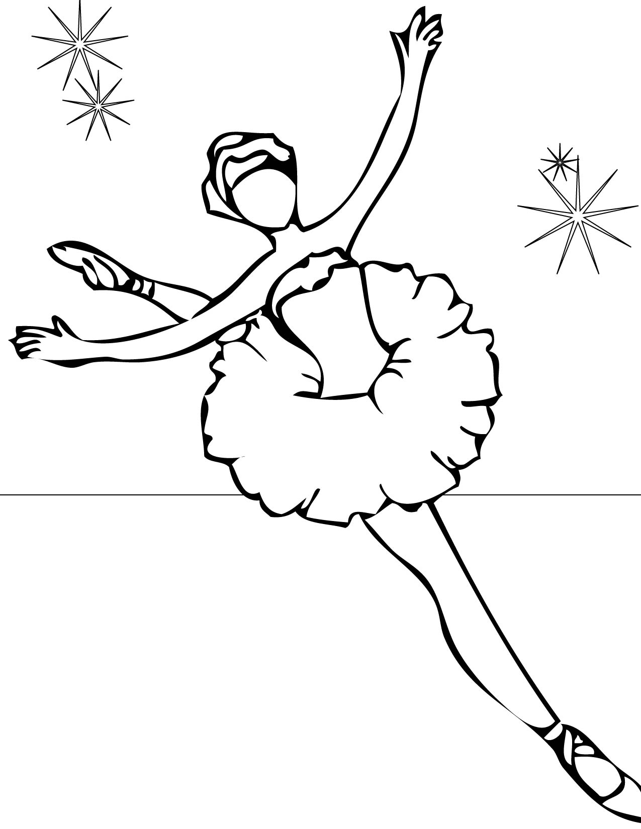 ballerina coloring pages printable free - photo#7