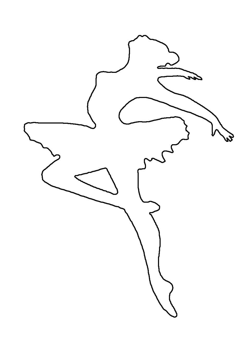 ballerina coloring pages printable free - photo#37