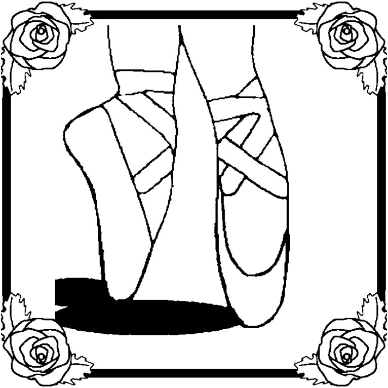 ballerina coloring pages for childrens printable free - Kitty Ballet Coloring Pages