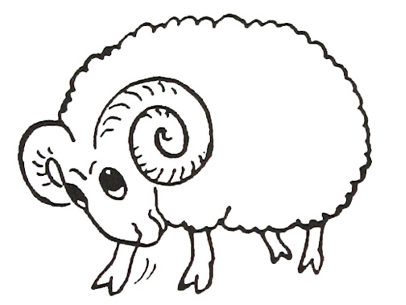 Ram coloring pages to download and print for free for Drawing websites no download