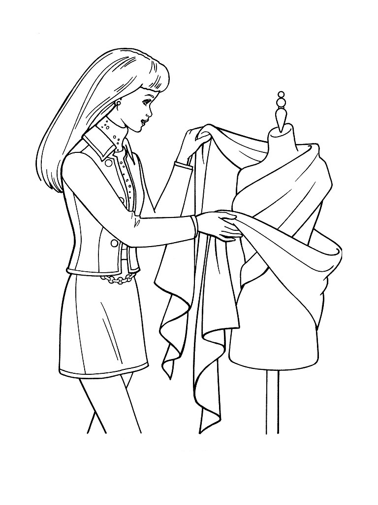 model coloring pages - photo#11
