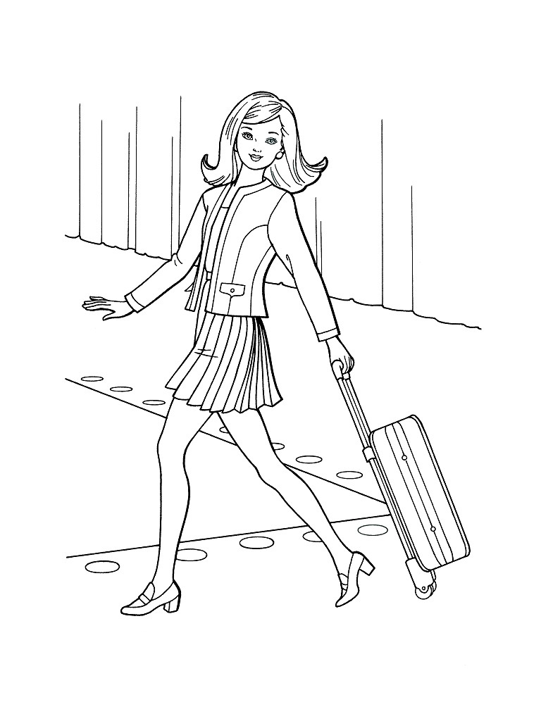 Kleurplaat Modeshow Top Model Coloring Pages To Download And Print For Free