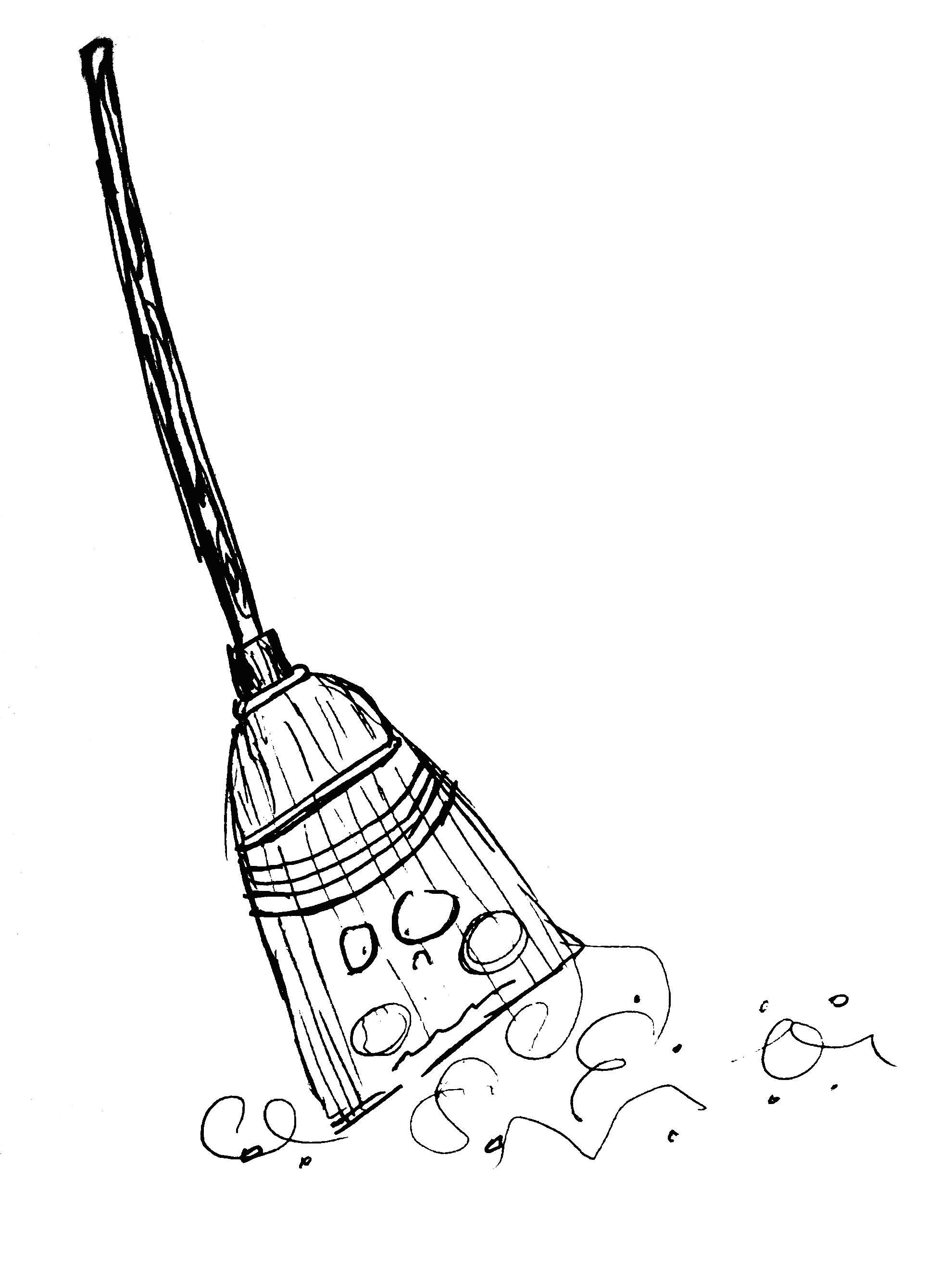 Broom coloring pages to download