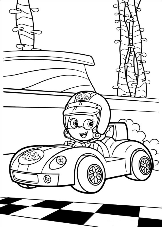 Bubble Guppies Coloring Page To Download And Print For Free