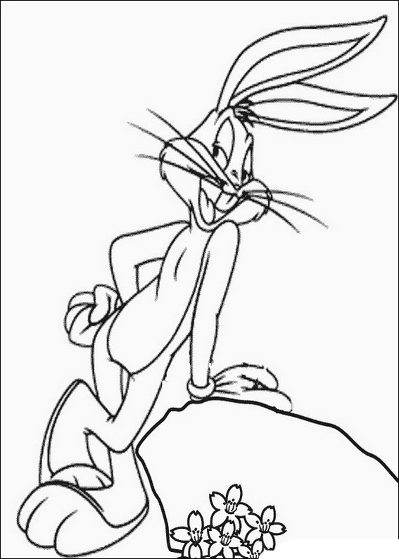 Bugs Bunny Coloring Pages to download