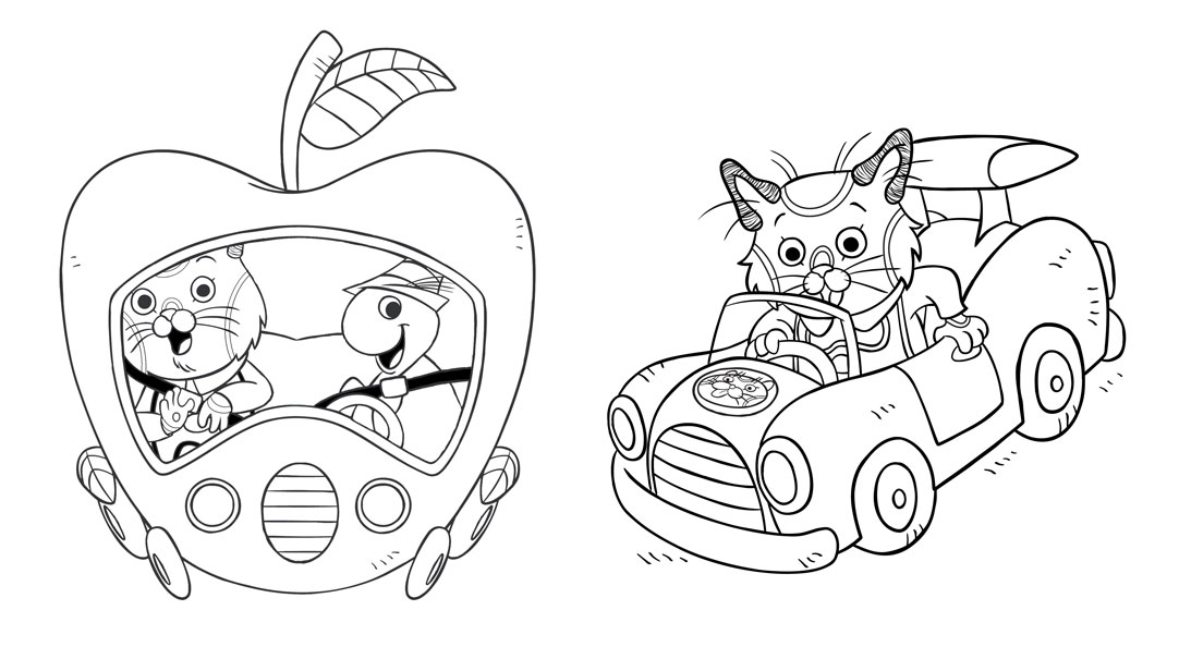 richard scarry preschool coloring pages - photo#3
