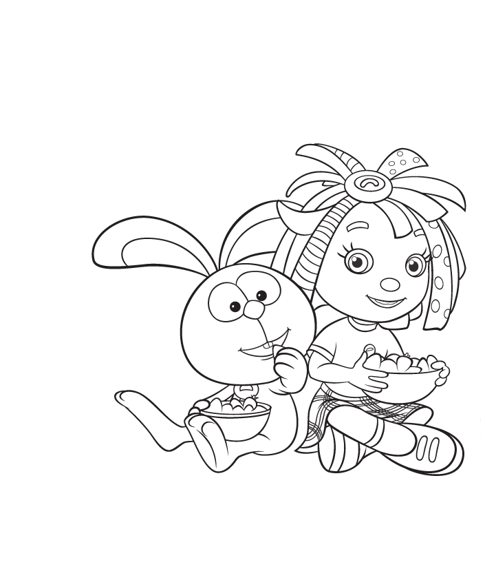 everythings rosie coloring book pages - photo#4
