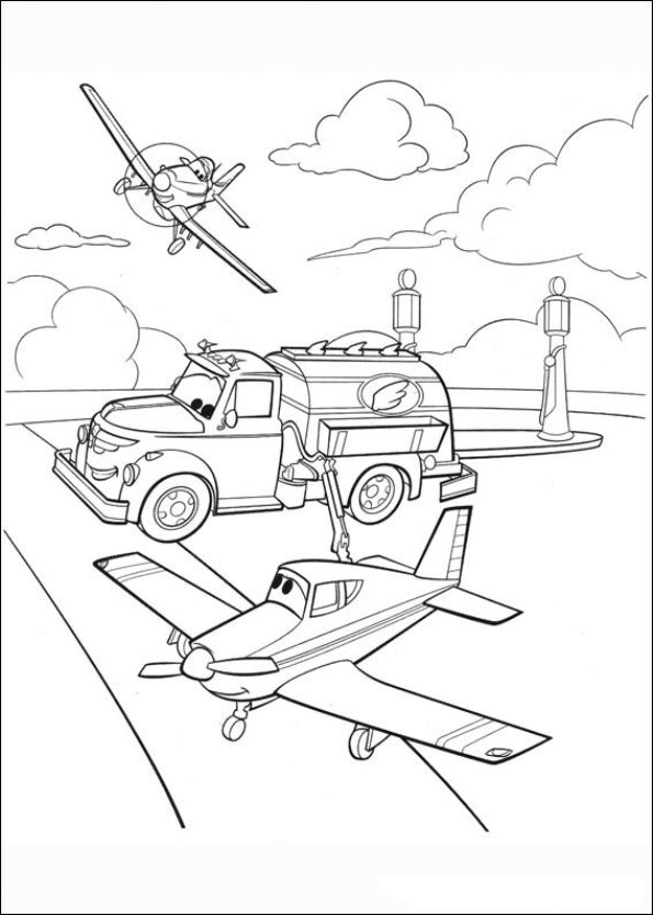 Planes Coloring Pages To Download And Print For Free