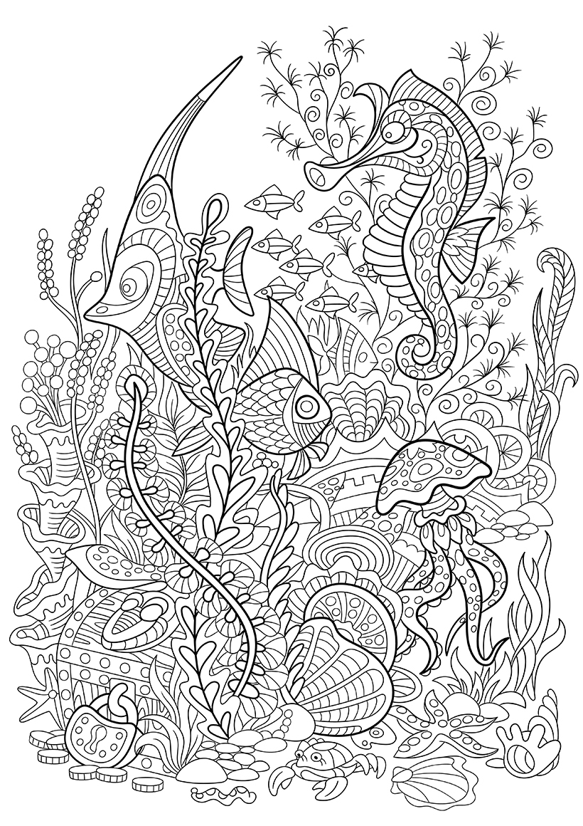 Lucrative image in advanced coloring pages printable