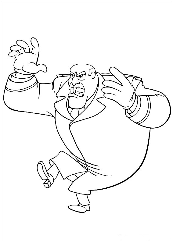 Curious Gee coloring pages to download and print for free
