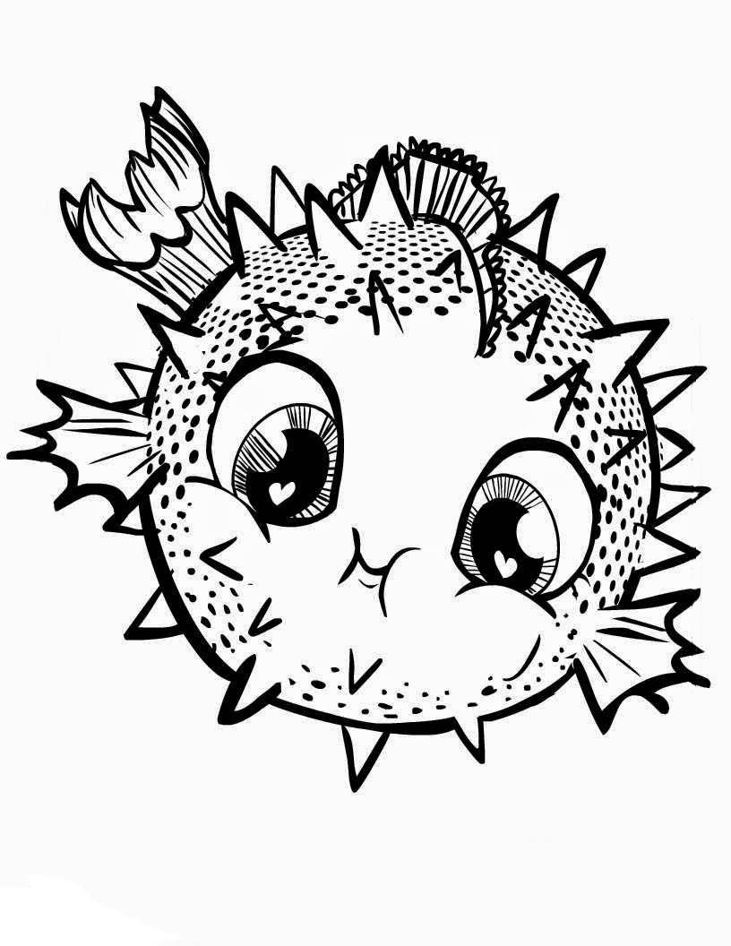 Cuties coloring pages to download and print for free for Cuties coloring pages