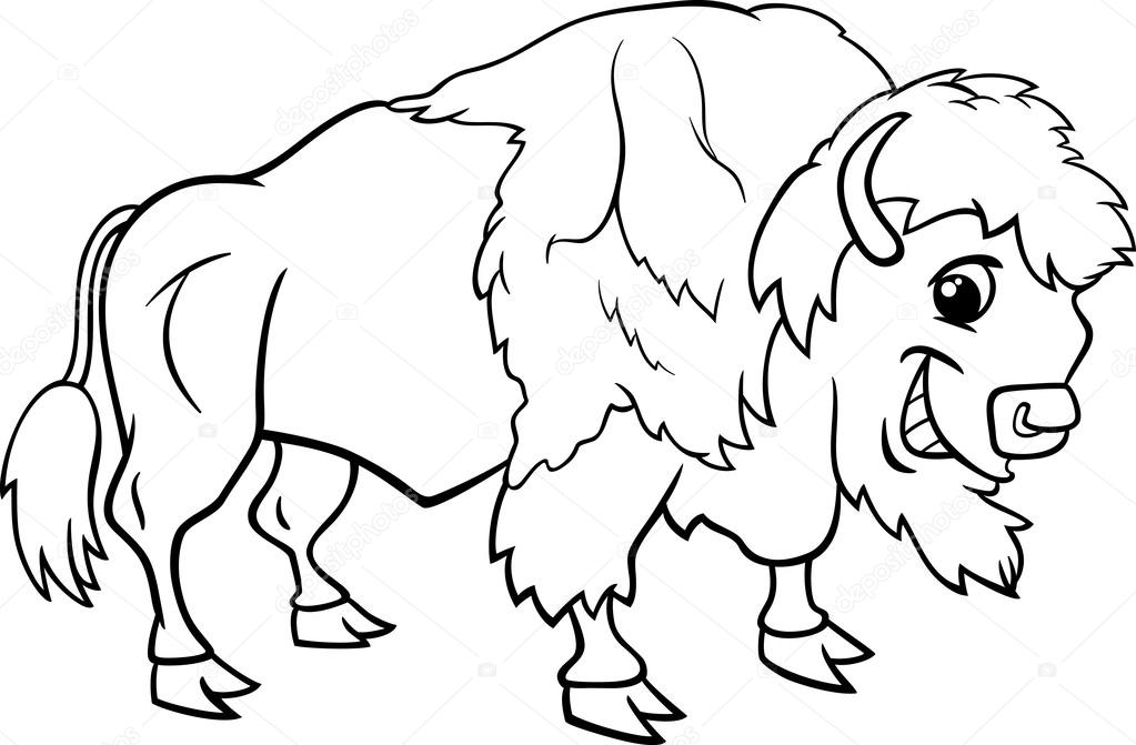 Bison Coloring Pages To Download And Print For Free