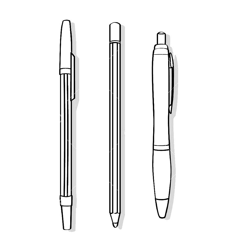 Pen coloring pages to download