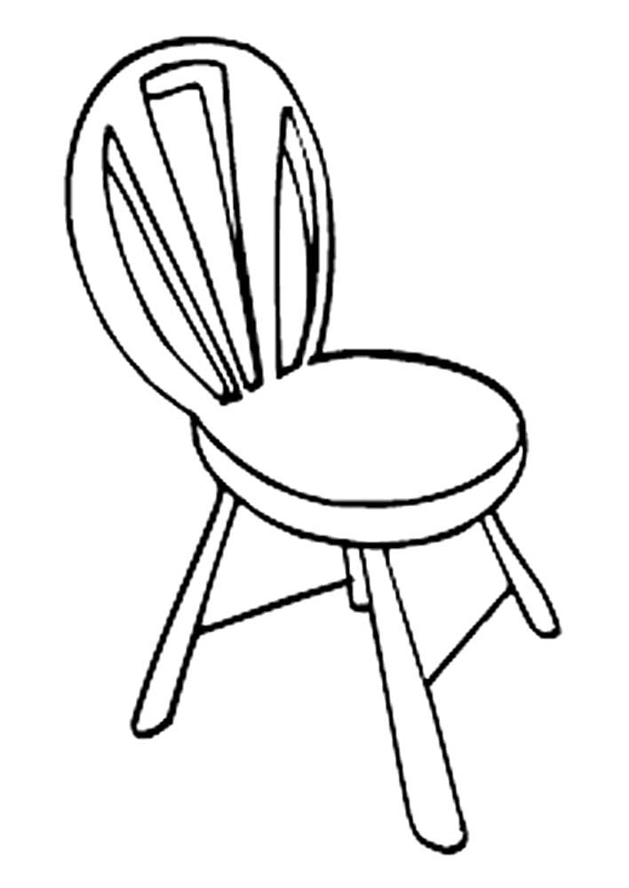 Chair coloring pages to download