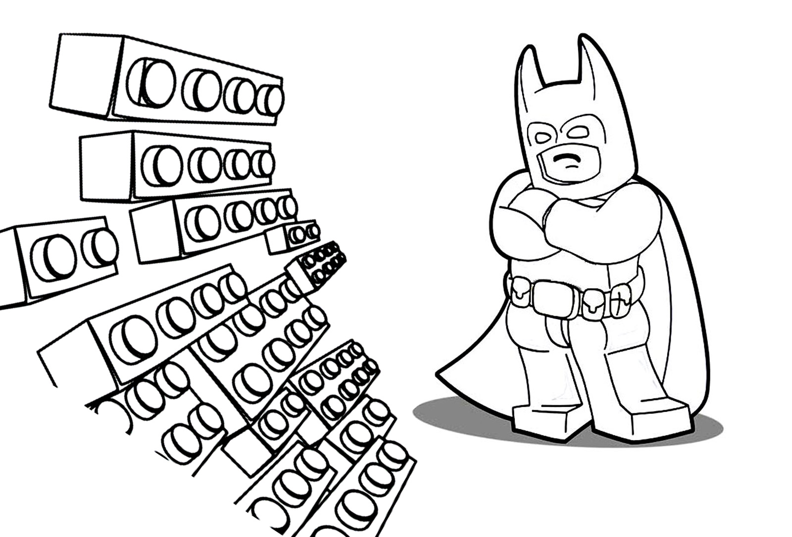 the lego batman movie coloring pages to download and print for free