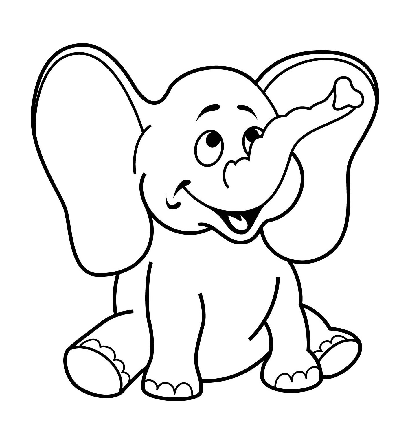 Coloring pages for 3-4 year old girls, 3,4 years, nursery to print ...