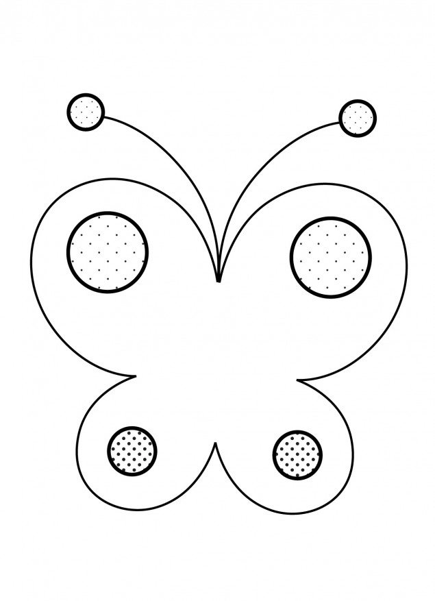 Simple Coloring Pages For 2 Year