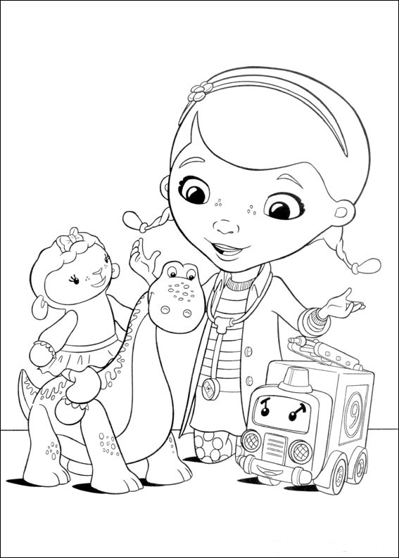 doc muffins coloring pages - photo#24