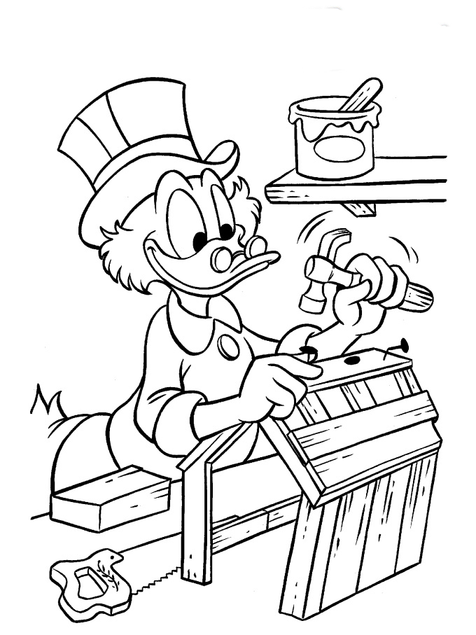 Ducktales Coloring Pages To Download And Print For Free
