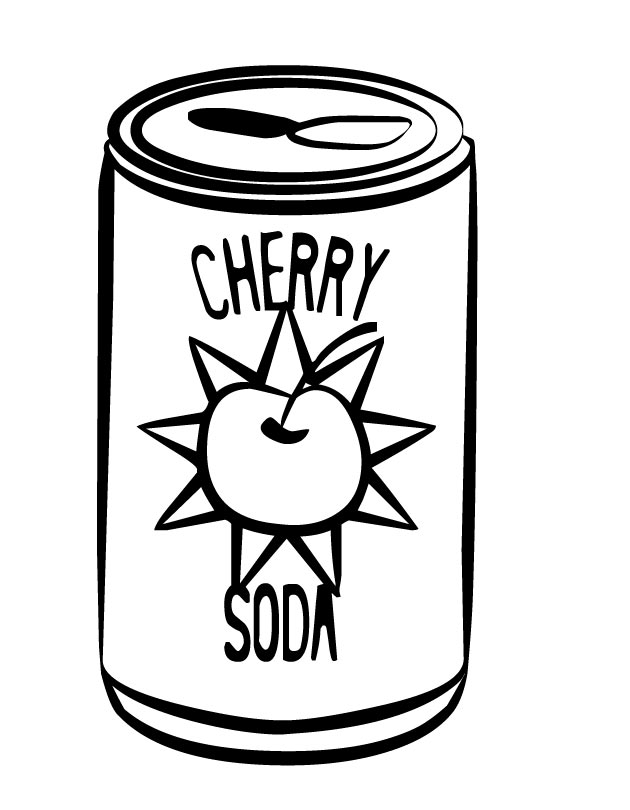 no soda coloring pages - photo#4