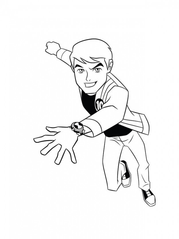 Ben 10 Ultimate Alien Coloring Pages To Download And Print For Free