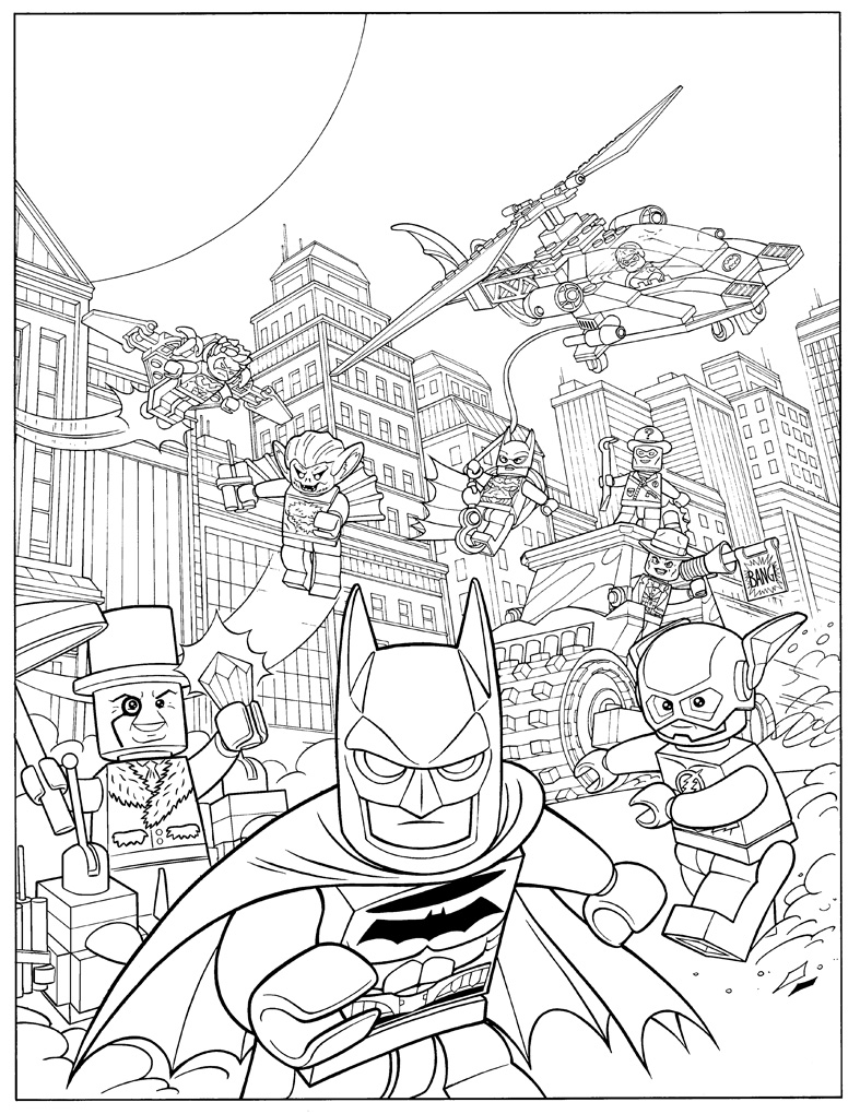 Lego Marvel Coloring Pages To Download And Print For Free: The Lego Batman Movie Coloring Pages To Download And Print