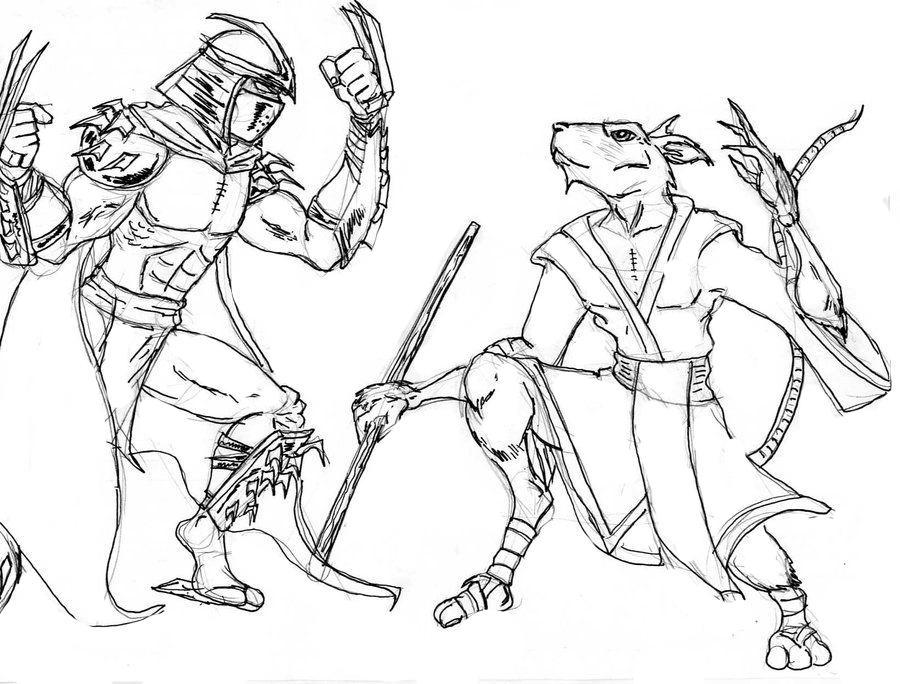 Shredder Coloring Pages To Download And Print For Free