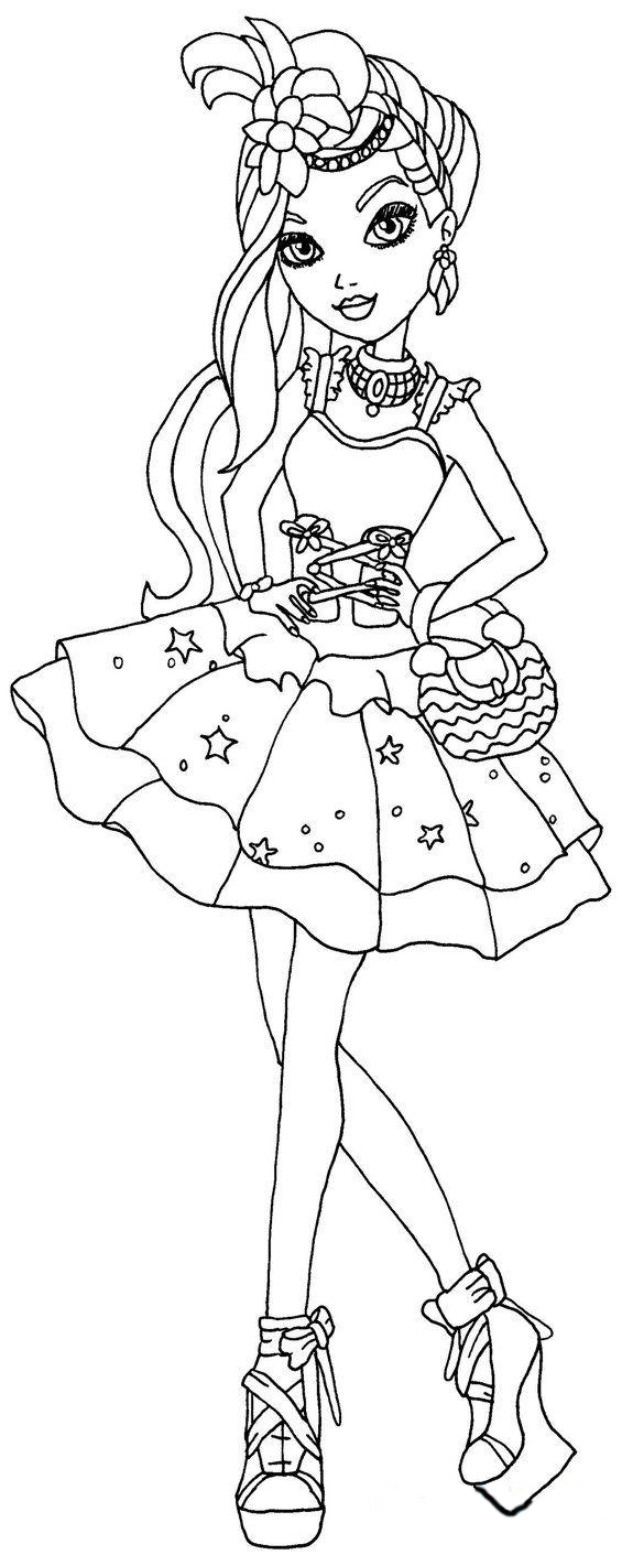 Colouring pages for ever after high - Free Ever After High Coloring Pages To Print For Kids Download Print And Color