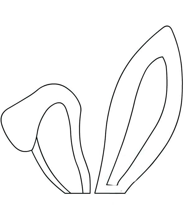 coloring pages of ears - photo#28