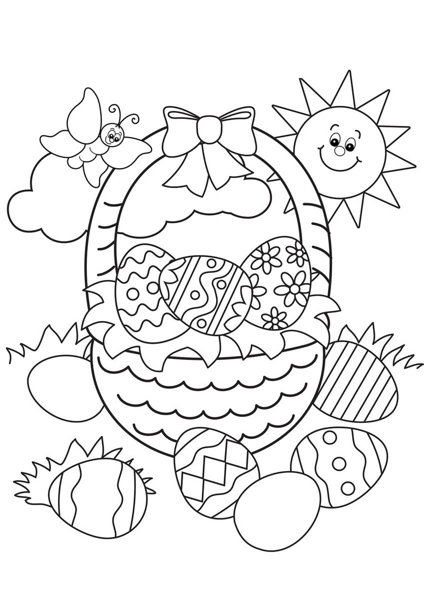 Catholic Coloring Pages Easter