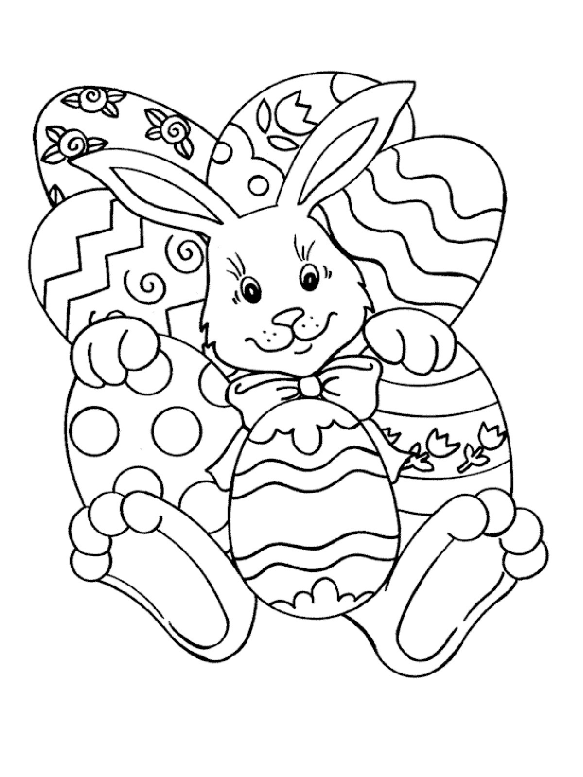 Free easter coloring pages for toddlers - Free Easter Coloring Pages To Print For Kids Download Print And Color
