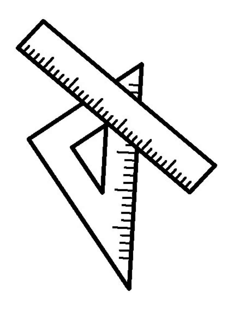 Ruler Coloring Pages To Download And Print For Free