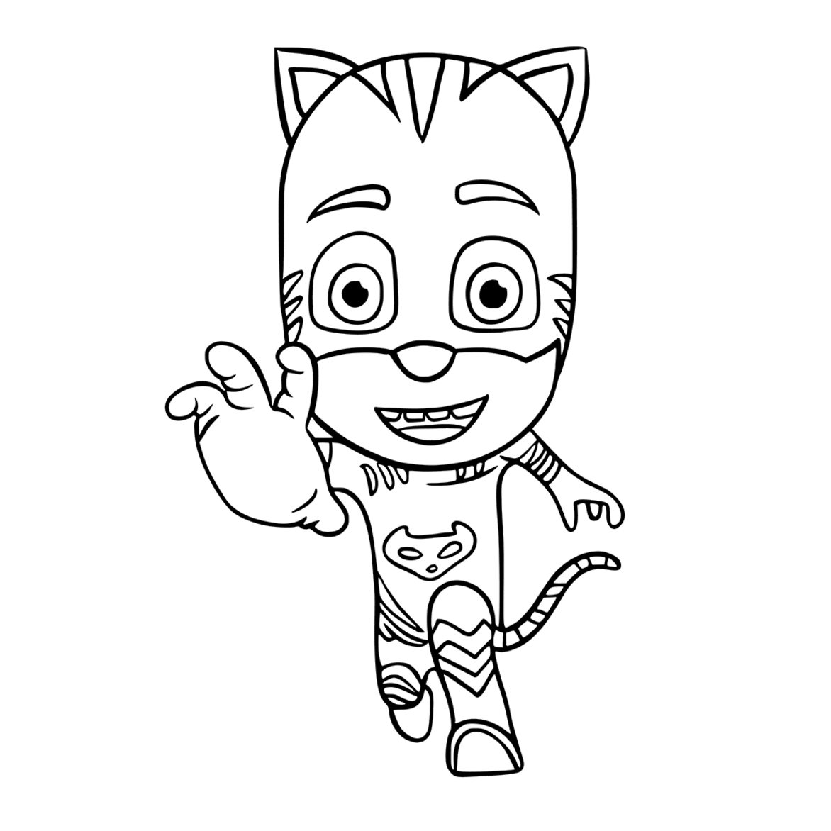 free pj masks coloring pages to print for kids download print and color