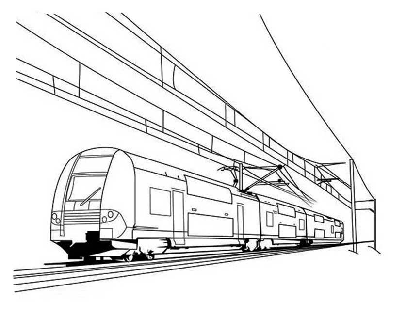 Afbeelding Tractor Kleurplaat Metro Coloring Pages To Download And Print For Free