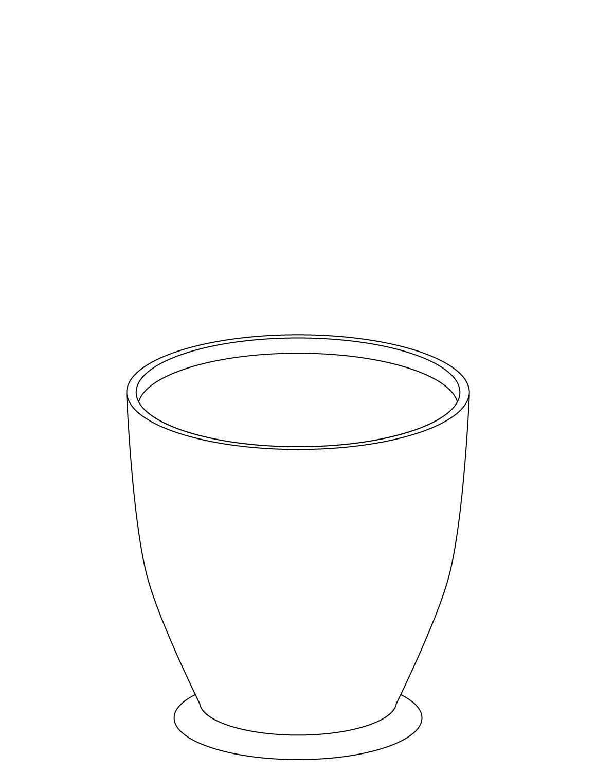 Pot Coloring Pages To Download And Print For Free