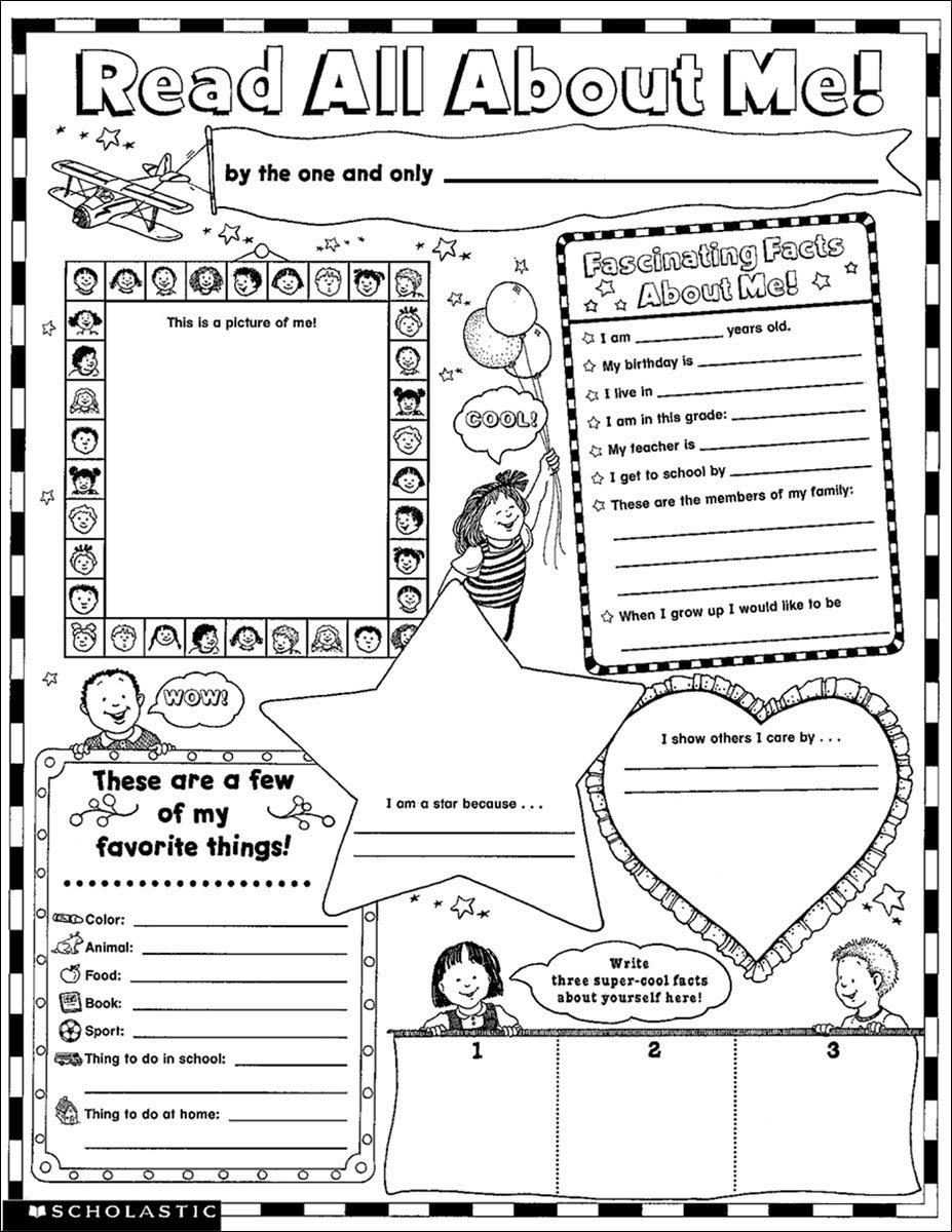 Ghostbusters coloring pages free printable - Free All About Me Coloring Pages To Print For Kids Download Print And Color